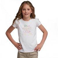Girls Bugle T-Shirt White