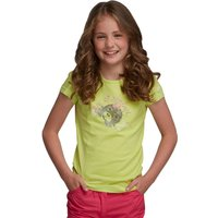 Girls Bugle T-Shirt Wild Lime
