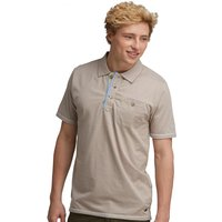 Adios Polo Shirt Nutmeg Cream