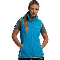 Womens Runout Bodywarmer Fluro Blue