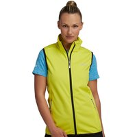 Womens Descender Bodywarmer Neon Spring