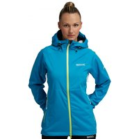 Womens Airglow Jacket Fluro Blue