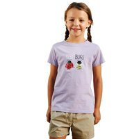 Girls Chute T-Shirt Palma Violet