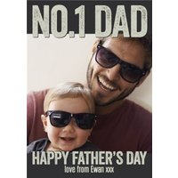 Father's Day Photo Cards, Standard Size By Moonpig