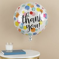 Rainbow Thank You Balloon Gift Set By Moonpig - Delivery Available