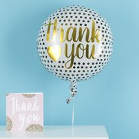 Thank You Balloon Gift Set By Moonpig - Delivery Available
