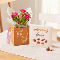 The Rose Gift Bag Flower Delivery - 5 Day Freshness Guarantee By Moonpig