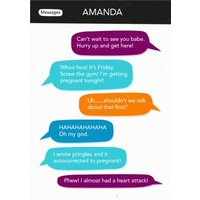 Auto What?!? Pringles Typo Personalised Card, Standard Size By Moonpig