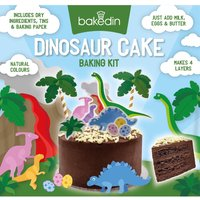 'Dinosaur Cake Baking Kit Gift Set By Moonpig - Delivery Available