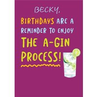 Birthdays Are A Reminder Ageing Funny Card, Standard Size By Moonpig