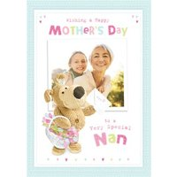 Boofle To A Special Nan Mother's Day Photo Card, Large Size By Moonpig