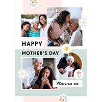Cute Photo Upload Mother's Day Card For Nanna X, Large Size By Moonpig