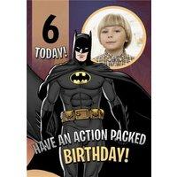 Batman Photo Upload Birthday Card, Standard Size By Moonpig