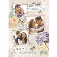 Photo Wedding Card, Standard Size By Moonpig