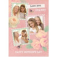 Love You Granny Photo Upload Mother's Day Card, Giant Size By Moonpig