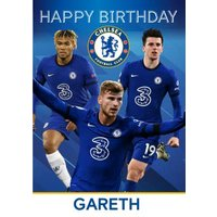 Chelsea Happy Birthday Card, Standard Size By Moonpig