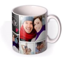 Valentine's Day For My Valentine Photo Upload Mug by Moonpig, Gift Set - Delivery Available