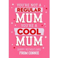 Mean Girls You're A Cool Mum Mother's Day Card, Giant Size By Moonpig