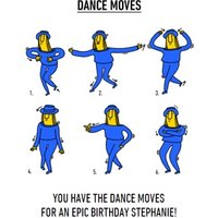 Video Game Dance Moves Epic Birthday Card, Standard Size By Moonpig