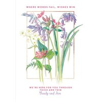 Country Diary Wishes Win Personalised Card, Standard Size By Moonpig
