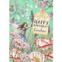 Fairy Birthday Card, Giant Size By Moonpig