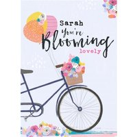Cute Modern Birthday Card You're Blooming Lovely, Standard Size By Moonpig