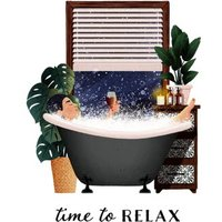 Folio Time To Relax Mothers Day Card , Standard Size By Moonpig
