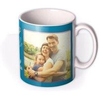 Mum Birthday Blue Photo Upload Mug by Moonpig, Gift Set - Delivery Available