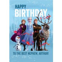 Disney Frozen 2 Birthday Card For The Best Nephew, Giant Size By Moonpig