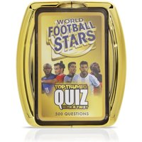 World Football Stars Top Trumps Quiz Gift Set By Moonpig - Delivery Available
