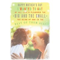 Mother's Day Card - Sentimental Card, Standard Size By Moonpig