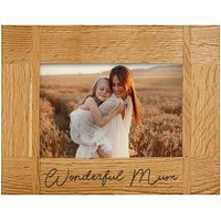 Wonderful Mum Engraved Photo Frame Gift Set By Moonpig - Delivery Available