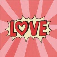 Pop Art Love Card