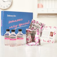 Pinkster Gin Letterbox Gift Set By Moonpig - Delivery Available