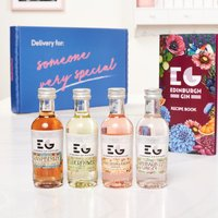 Edinburgh Gin Letterbox Gift Set By Moonpig - Delivery Available