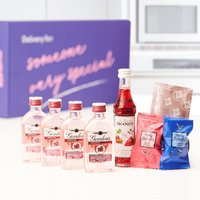 Gordons Pink Gin Letterbox Gift Set By Moonpig - Delivery Available