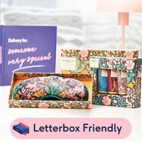 William Morris Eye Mask & Hand Cream Letterbox Gift Set By Moonpig - Delivery Available