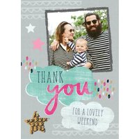 Thank You For The Weekend Card, Giant Size By Moonpig