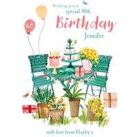 Birthday Card - Happy 40th