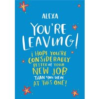 Lucy Maggie Leaving New Job Card, Large Size By Moonpig
