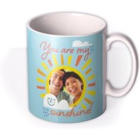 You Are My Sunshine Cute Photo Upload Mug by Moonpig, Gift Set - Delivery Available
