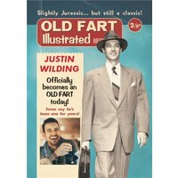 Old Fart Photo Upload Birthday Card, Standard Size By Moonpig