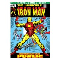 Marvel Comics Iron Man Birthday Card