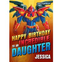 Happy Birthday To An Incredible Daughter Card, Giant Size By Moonpig