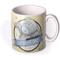 Tatty Teddy World's Greatest Dad Personalised Mug by Moonpig, Gift Set - Delivery Available