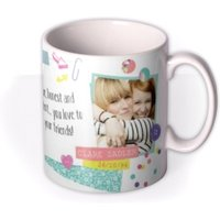 Tatty Teddy Scorpio Zodiac Personalised Mug by Moonpig, Gift Set - Delivery Available