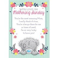 Mother's Day Card - Tatty Teddy Verse Card, Standard Size By Moonpig