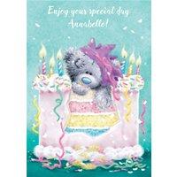 Tatty Teddy Birthday Card, Large Size By Moonpig