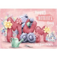 Mother's Day Card - Mum Tatty Teddy Cute, Giant Size By Moonpig