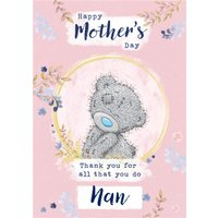 Tatty Teddy Thanks For All You Do Happy Mother's Day Nan Card, Large Size By Moonpig